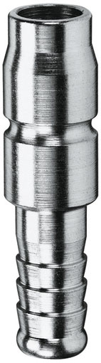 6mm HOSE TAIL PLUG STEEL PLATED - 34SFTF06SXN