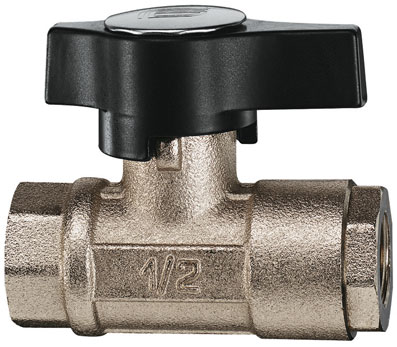 "3/8"" BSP FEMALE BRASS HIGH PRESSURE VALVE - BV210-38"