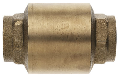 "1.1/4"" BSP FEMALE BRASS CHECK VALVE - CV100-114"