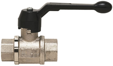 "1"" BSP FEMALE VENTING BRASS BALL VALVE - VBV-1"
