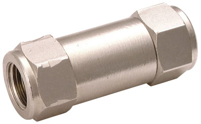 "1/4"" BSP FEMALE NON-RETURN VALVE VITON - VFU4.V"