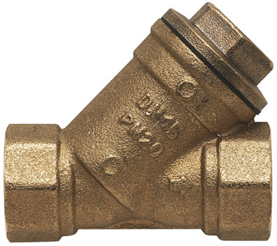 "1/2"" BSP FEMALE ""Y"" BRASS STRAINER - YS-12"