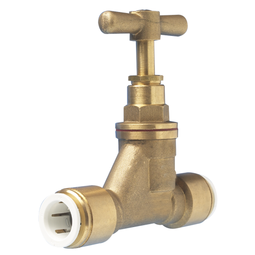 15mm Brass Stop Valve - 15BSC