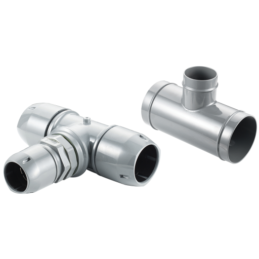 40-25mm Reducing Tee Airpipe Connector - 2009 4207 00