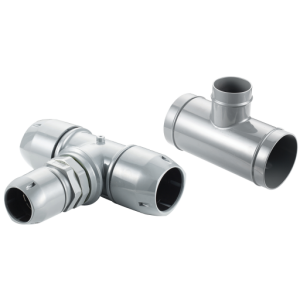100-40mm Reducing Tee Airpipe Connector - 2009 8407 00