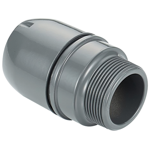 "32mm X 3/4"" Male Airpipe Connector - 2016 3117 00"