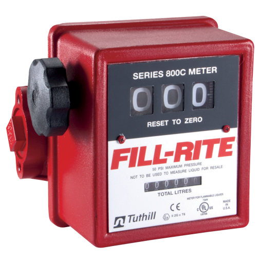3 Digit Flow Meter Without Strainer - 807CL