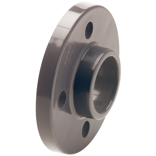 110mm UPVC Full Face Flange ASA150 - FASA150-110-UPVC