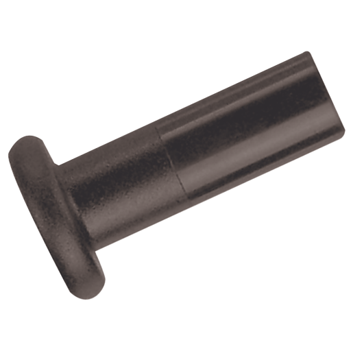 15mm OD Plug Black - PM0815E