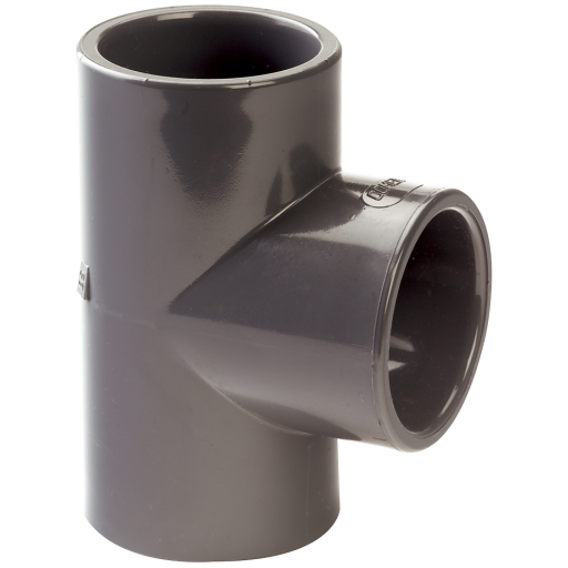 63mm UPVC Equal Tee - T-63-UPVC