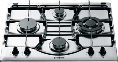 Hotpoint GF640 Style 60cm Gas Hob White - DISCONTINUED