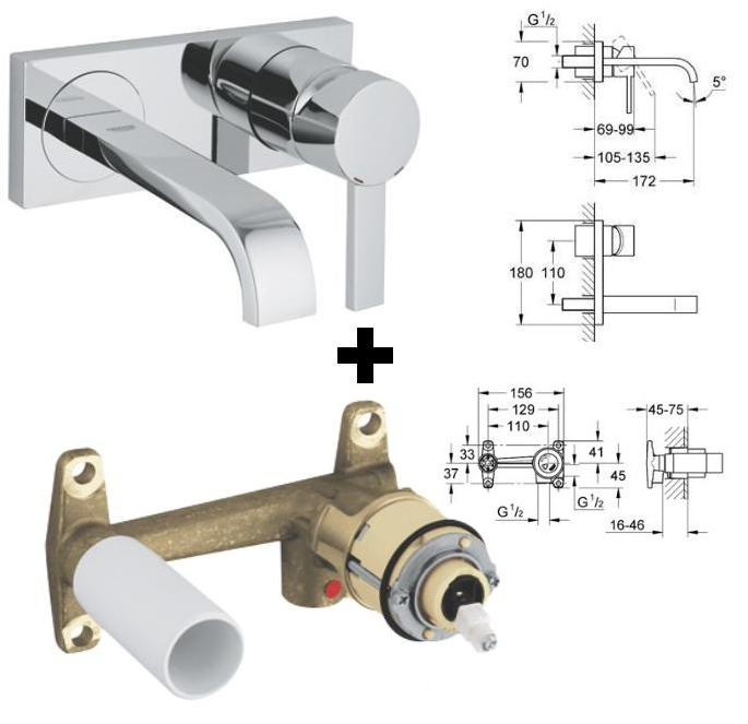 Grohe Allure Concealed Valve 19384 19384000 Grohe