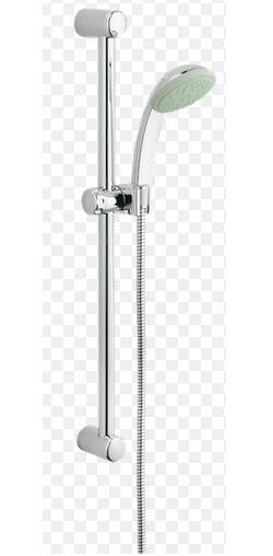 grohe tempesta 100 duo shower rail set 2 sprays 28591003. Black Bedroom Furniture Sets. Home Design Ideas