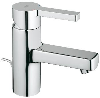 Grohe Lineare Basin Mixer Pop Up Waste Lp Chrome Plated