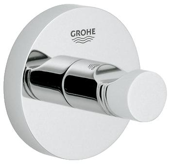 Grohe - Essentials - Robe Hook Chrome Plated - 40364000 - 40364