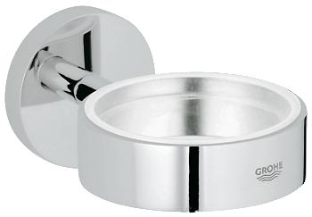 Grohe - Essentials - Glass/Soap Dish Holder Chrome Plated - 40369000 - 40369