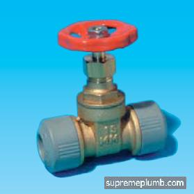Hep2O® Gate Valve - Hot Cold - 15mm - 243381 - DISCONTINUED
