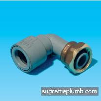 "Hep2O® SlimLine Bent Tap Connector - 15mm x 1/2"" - 243271"