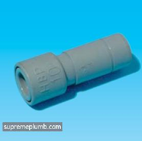 Hep2O® SlimLine Socket Reducer - 15 x 10mm - 243191