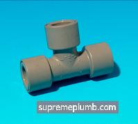Hep2O® SlimLine Equal Tee - 15mm - 243222