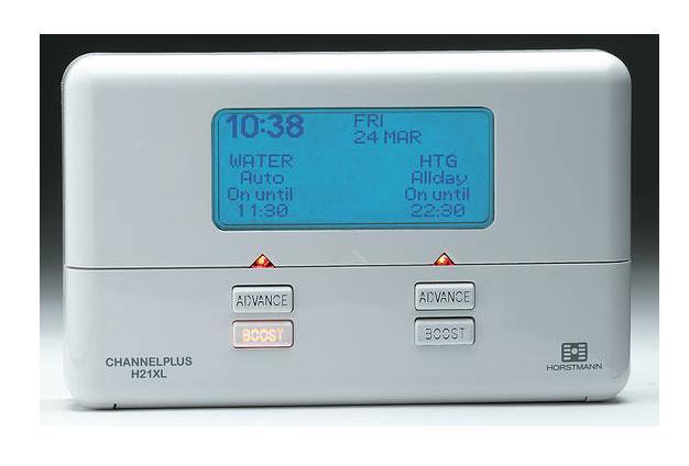 2 channel programmeur électronique HORSTMANN channelplus h27xl 7 jours
