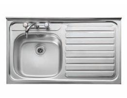 Leisure Sink Contract 1.0B LHD Square Front Sink - G66555
