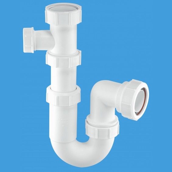 "1½"" (1.1/2"") Tubular Swivel Sink Trap with 19/23mm pipe connection - ASC10-SP"