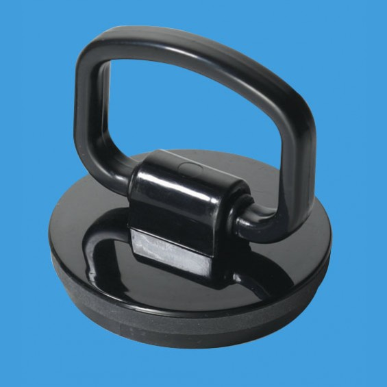 "1¾"" (1.3/4"") Black Plastic Plug with Rubber Seal - BP2H"