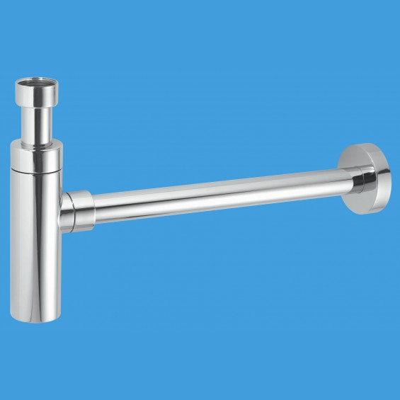 CP Brass Basin Kit with Cylindrical Bottle Trap - CA32UK-CB