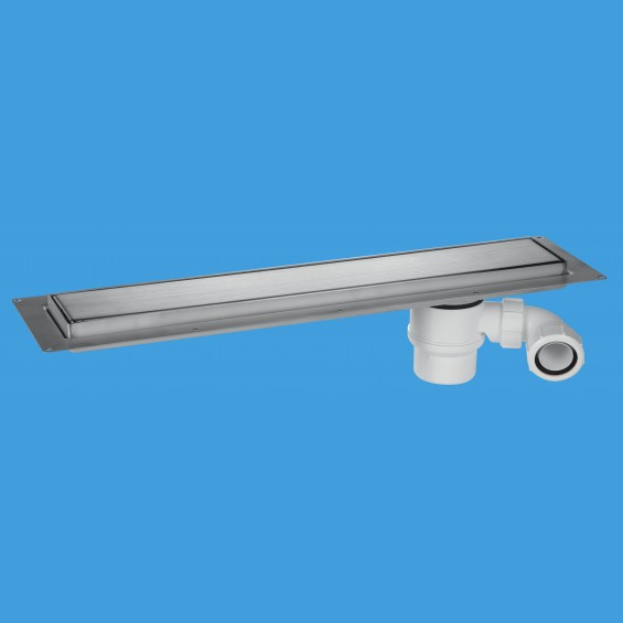 600mm Channel Drain - Brushed - CD600-B