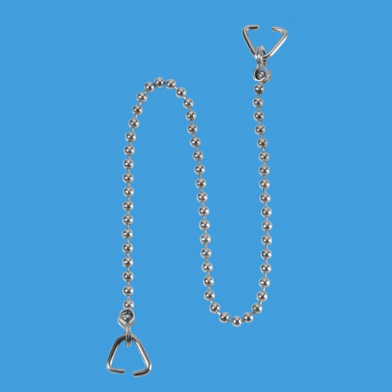 "18"" CP Chain and 2 Triangles - CH4-18"
