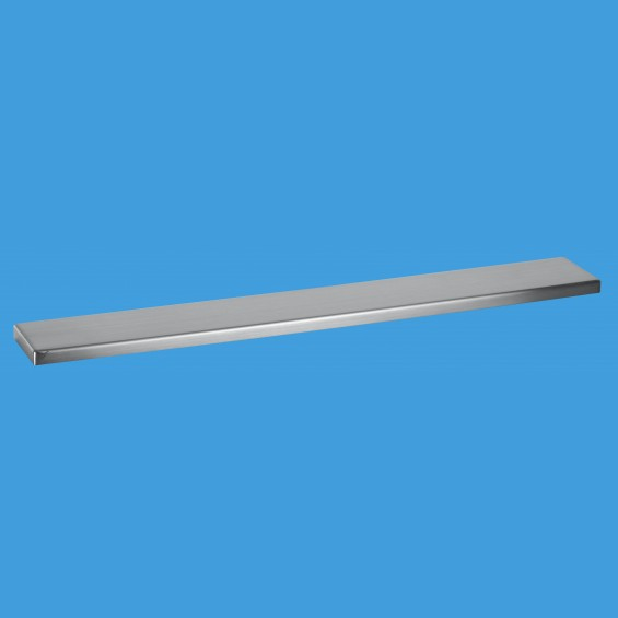 600mm Channel Drain Brushed Cover Plate - COV600-B