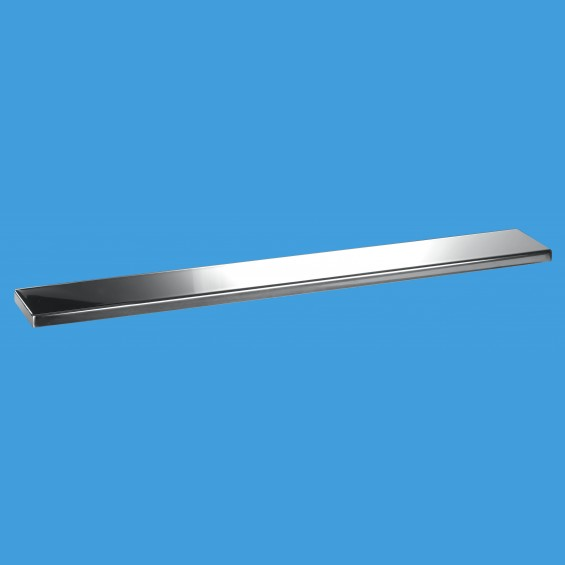 600mm Channel Drain Polished Cover Plate - COV600-P