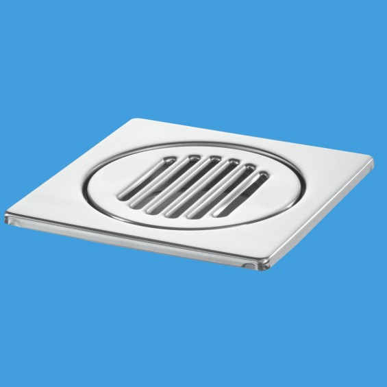 150mm Square Stainless Steel Tile - FD90-T8WH