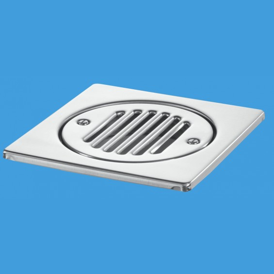 150mm Square Stainless Steel Tile - FGT150-SS