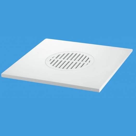 200mm Square White ABS Tile - MDTOP20-WH