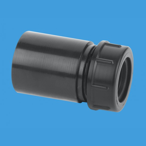 "1¼"" (1.1/4"") x 19/23mm Reducer in ABS - R16-BL"