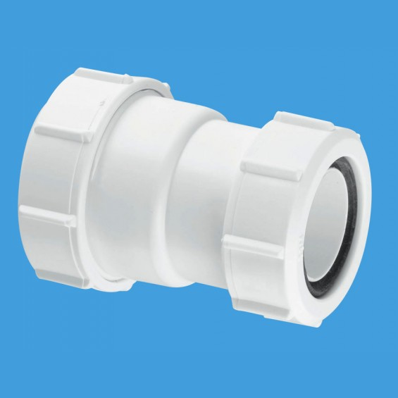 "1¼"" (1.1/4"") x 1½"" (1.1/2"") Multifit Straight Connector - ST28M"