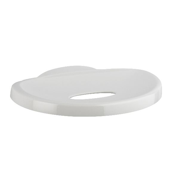 Mira Logic Soap Dish in White - DISCONTINUED