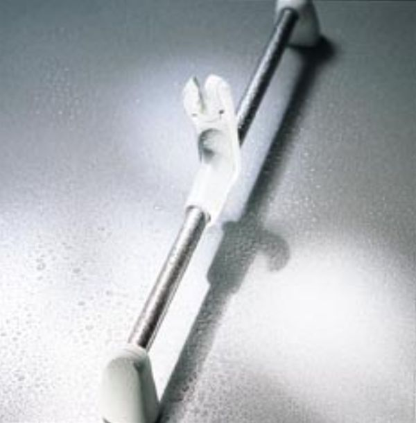 Mira RF3 Slide Bar Set shown in White-Chrome