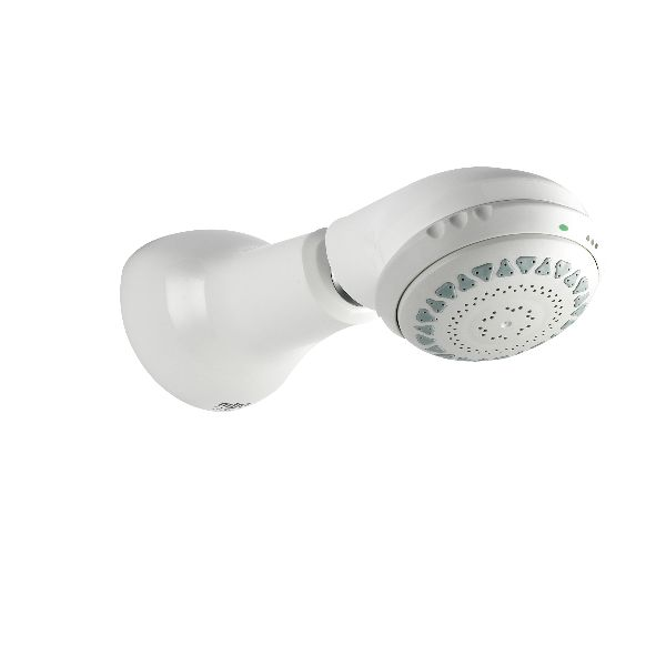 Mira RF7 Adjustable Spray, Rigid Shower Head BIR in white - DISCONTINUED