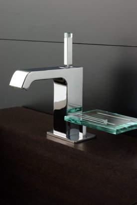 Aspirante - Fervore Mono Basin Tap with Soapdish - DISCONTINUED
