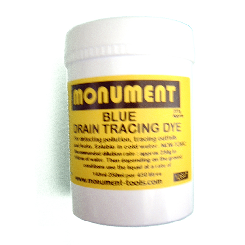 MONUMENT 8oz BLUE DRAIN DYE - 1269T