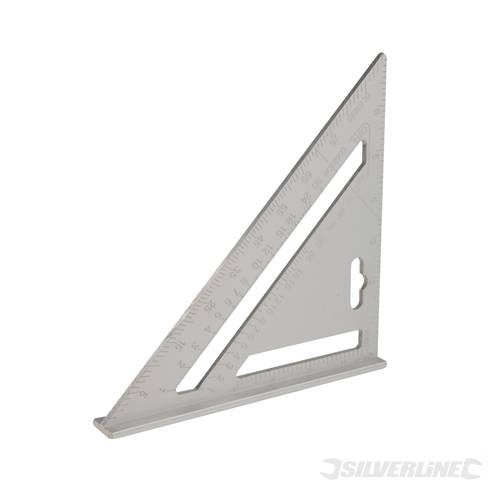 ... Silverline 734100 Aluminium Alloy Roofing Square 185mm   SIL734100