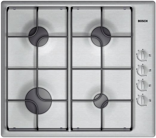 Bosch PCD625DEU Flush fitting gas hob - DISCONTINUED