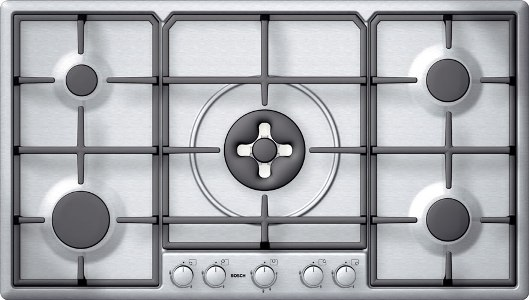Bosch PCL985FGB Extra wide gas hob DISCONTINUED