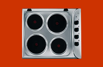 Indesit PI604 Electric Hob in Stainless Steel