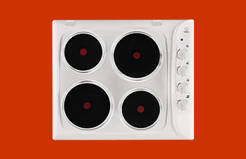 Indesit PI604 Electric Hob in White