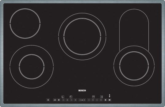 Bosch PKC845T02E Extra wide 4 zone ceramic hob - DISCONTINUED