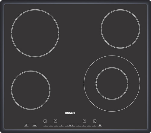Bosch PKF646T02E 4 zone ceramic hob - DISCONTINUED